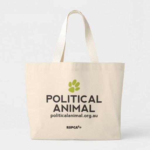 RSPCA Political Animal Jumbo Tote Tote Bag
