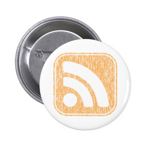 RSS Icon Button Weathered Design