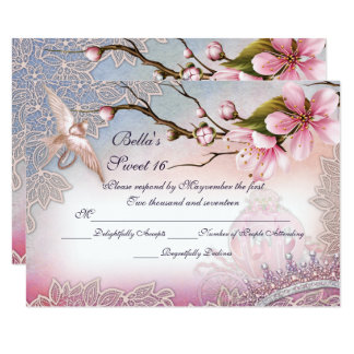 RSVP Cards for Invitations