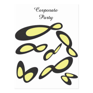 RSVP Corporate Party - Infinity Symbol Postcard