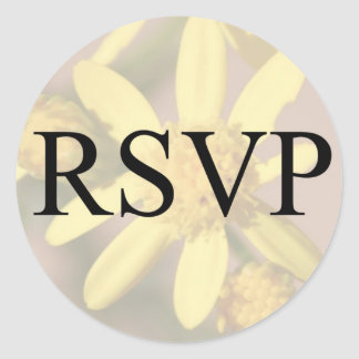 RSVP DAISY STICKER