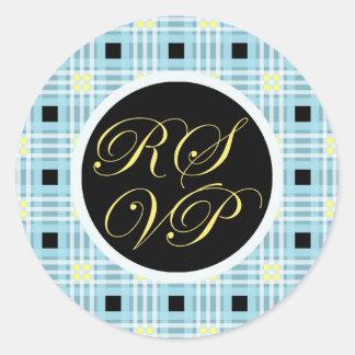RSVP Envelope Seal Sticker