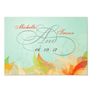 RSVP - Fancy Floral Wedding Response Cards