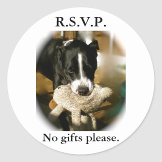 RSVP  Invitation stickers