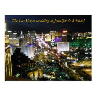 RSVP Las Vegas Wedding Guest Response Postcard
