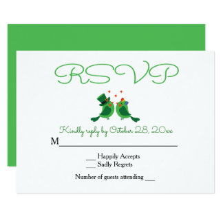 Green And White Wedding Invitations Amp Announcements
