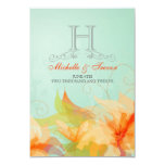 RSVP - Stylish Floral Abstract Wedding Invitations