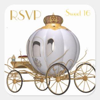 RSVP Sweet 16 Square Sticker