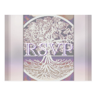 RSVP | Tree of Life Postcard