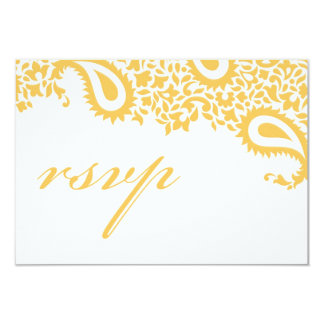 RSVP Wedding Indian Style Card Invites