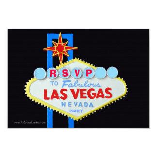 RSVP Wedding Reception Las Vegas Card