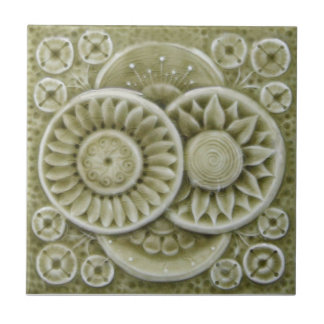 RT008 Faux-Relief Antique Reproduction Tile