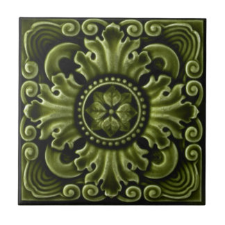 RT030 Faux-Relief Antique Reproduction Tile