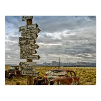 RT 66 Arizona Desert Postcards