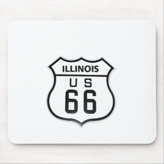 RT 66 Illinois Mouse Pad