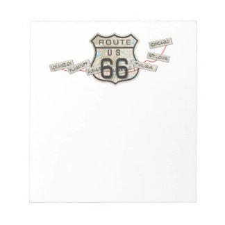 rt 66 notepads