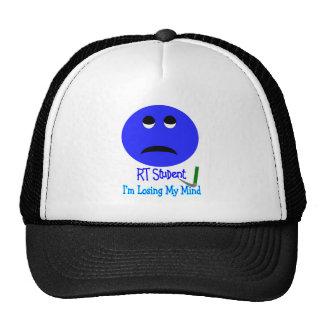 RT Student IM LOSING MY MIND BIG BLUE SMILEY Trucker Hats