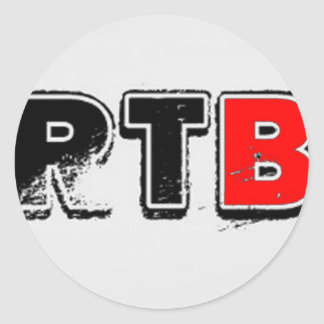 RTB Bold Logo RealTalkwithBrandon Stickers