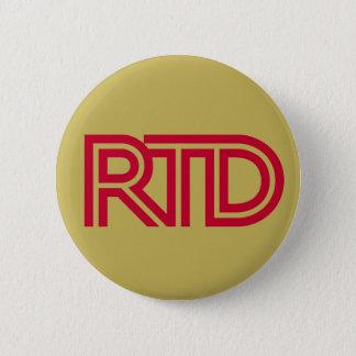 RTD Mining 6 Cm Round Badge