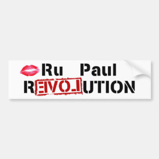 Ru Paul Revolution Bumper Sticker
