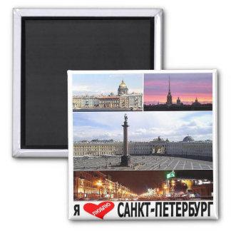 RU - Russia - SAINT PETERSBURG - I LOVE - COLLAGE Magnet