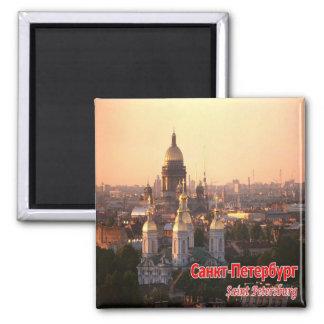 RU - Russia - SAINT PETERSBURG - SKYLINE Magnet
