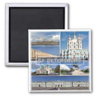 RU * Russia - St. Petersburg Russia Magnet