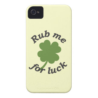 Rub Me for Luck Case-Mate iPhone 4 Case