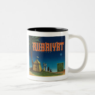Rubaiyat Vintage Crate label Mugs