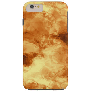 Rubbed Gold Foil Abstract Tough iPhone 6 Plus Case