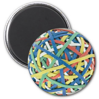 Rubber Band Ball Magnet