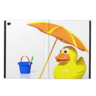 Rubber duck at the beach powis iPad air 2 case