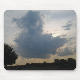 Rubber Duck Cloud Mousepad