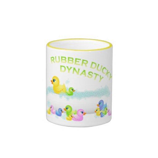 Rubber Duck Dynasty Coffee Mug