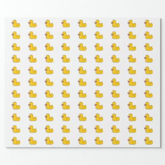 Rubber Duck Glossy Wrapping Paper, 30 in x 6 ft