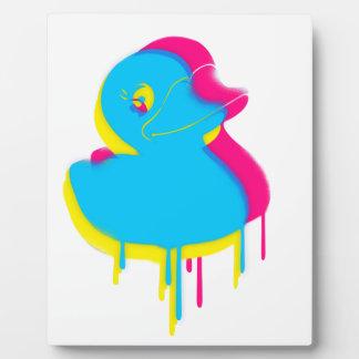 Rubber Duck Graffiti Pop Art Rubber Ducky Plaque