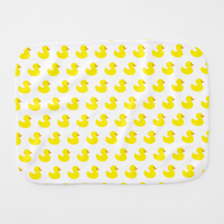 Rubber Duck Pattern Baby Burp Cloth