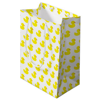 Rubber Duck Pattern Gift Bag
