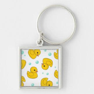 Rubber Duck Pattern Key Chain