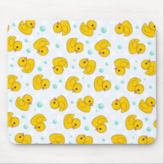 Rubber Duck Pattern Mouse Pad