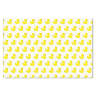 Rubber Duck Pattern Tissue Paper