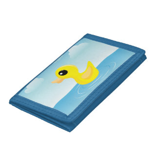 Rubber Duck Tri-fold Wallet