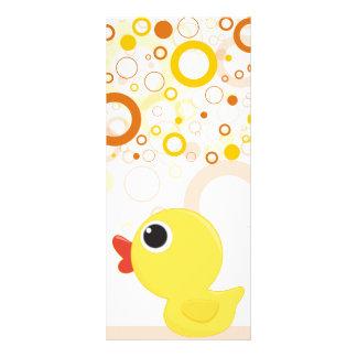 Rubber Duckie Custom Rack Cards