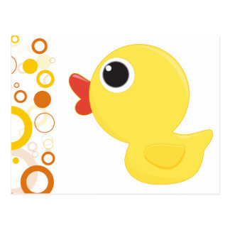 Rubber Duckie Post Card