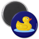 Rubber Ducky 6 Cm Round Magnet