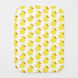 """Rubber Ducky"" Baby Burp Cloth"