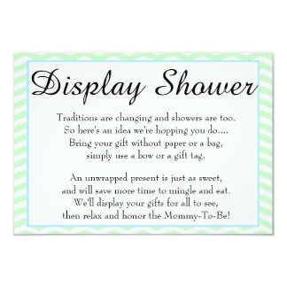 Rubber Ducky Baby Shower Display Shower Card