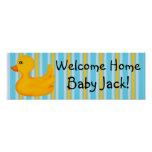 Rubber Ducky  Banner Poster