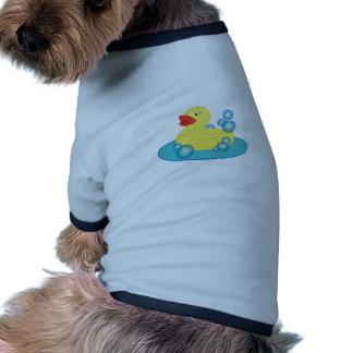 Rubber Ducky Ringer Dog Shirt