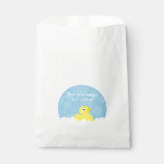 Rubber Ducky Favor Bag - Blue Favour Bags